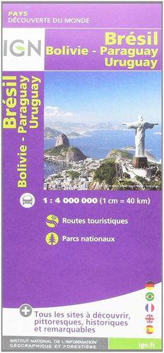 85114 BRAZIL, BRÉSIL, BRASIL,  BOLIVIA, URUGUAY, PARAGUAY *