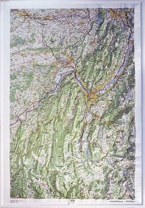 CHARTREUSE - VERCORS (RELIEVE )  1/100 000 *