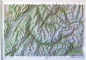 BELLEDONNE - VANOISE (RELIEF - RELIEVE) 1/100 000 *