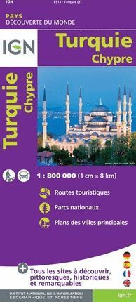 TURQUIE - CHYPRE   1:800.000 *