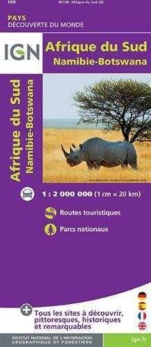 AFRIQUE DU SUD, NAMIBIE, BOTSWANA 1:2.000.000 *