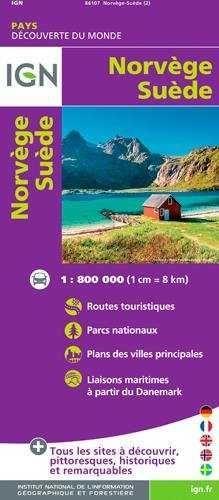 NORVEGE SUEDE , NORUEGA - SUECIA E.1:800.000