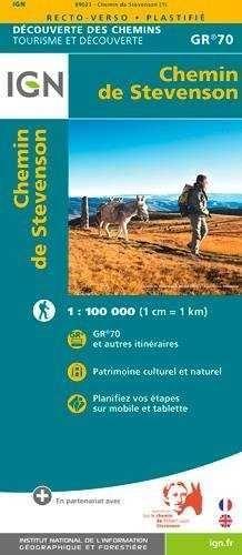 GR-70  CHEMIN DE STEVENSOM  1:100.000 *