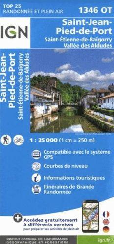 1346 OT ST-JEAN-PIED-DE-PORT 1:25.000