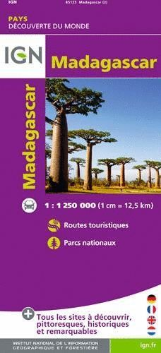 MADAGASCAR 1:1.250.000  *