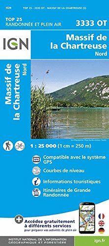 3333 OT MASSIF DE CHARTREUSE NORD 1:25.000 *