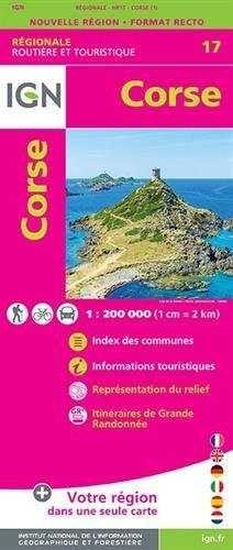 17 CORSE 1:250.000 -IGN *