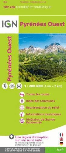 PYRENEES OUEST 1:200.000 -TOP 200 *