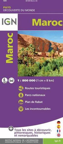 MAROC - MARRUECOS  1:800.000