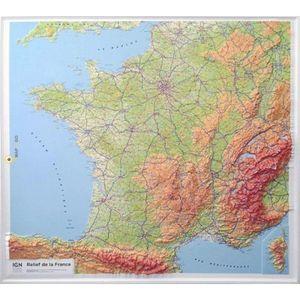 RELIEF DE LA FRANCE (RELIEVE) 1 160 000 *