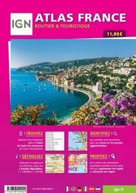 ATLAS FRANCE 2020 1:320.000