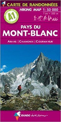 A1  PAYS DU MONTBLANC. ARAVIS - CHAMONIX - COURMAYEUR