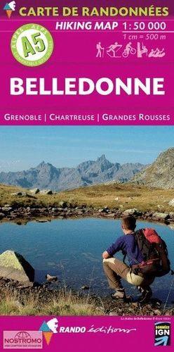 A5  BELLEDONNE.  GRENOBLE - CHARTREUSE - GRANDES ROUSSES