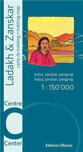 LADAKH & ZANSKAR CENTRE 1:150.000