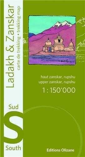 LADAKH & ZANSKAR SUD 1:150.000
