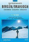 258S BERGÜN / BRAVUOGN E. 1:50,000
