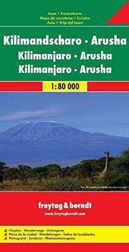 KILIMANDSCHARO - ARUSHA / KILIMANJARO - ARUSHA 1:80.000 *