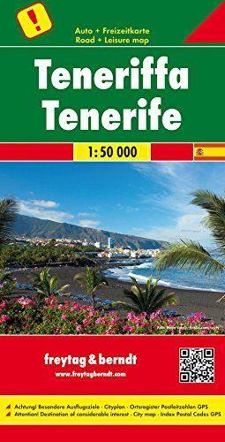 TENERIFE MAPA TURISTICO ESCALA 1:50,000 *
