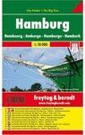 PLANO HAMBURG - HAMBURGO  1:10000 CITY POCKET