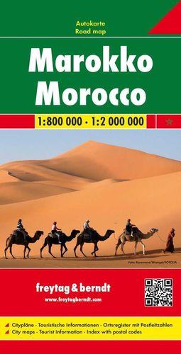 MARRUECOS (MOROCCO) 1:800.000 / 1:2.000.000  *