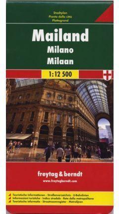 MAILAND -MILAN - MILANO 1:12.500 *
