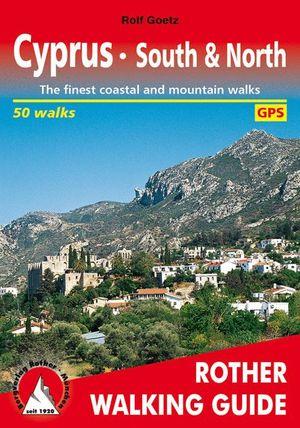 CYPRUS – SOUTH & NORTH . 50 WALKS *