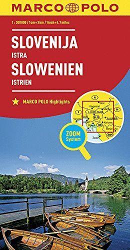 SLOVENIJA ISTRA SLOVENIA - ESLOVENIA 1:300.000*