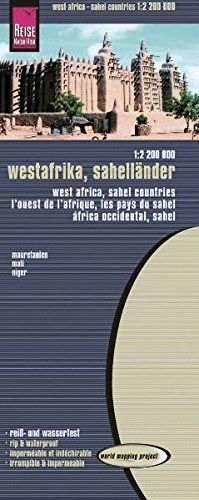 AFRICA WEST, SAHEL COUNTRIES - ÁFRICA OCCIDENTAL  (SÁHARA)  1:2.200.000 *