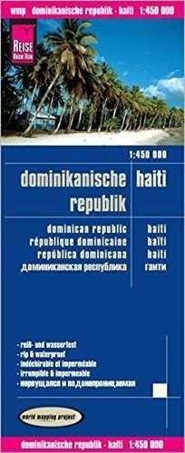 REPÚBLICA DOMINICANA, HAITÍ - DOMINICAN REPUBLIC 1:450.000 *