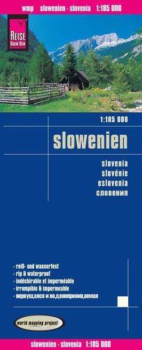 SLOWENIEN -SLOVENIA -(ESLOVENIA) 1:185.000 *