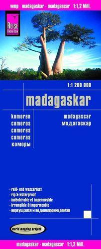 MADAGASCAR 1:1.200.000 IMPERMEABLE *
