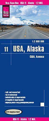 USA 11: ALASKA 1:2.000.000 *