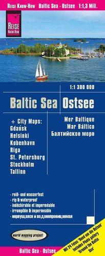 BALTIC SEA - OSTSEE (MAR BÁLTICO)1:1.300.000 *