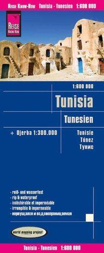 TUNISIA / TUNESIEN / TÚNEZ 1:600.000 *
