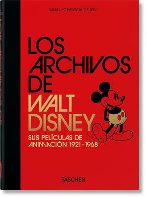 LOS ARCHIVOS DE WALT DISNEY:  *
