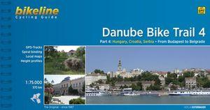 DANUBE BIKE TRAIL 4 HUNGARY CROATIA SERBIA (ING/ALE) *