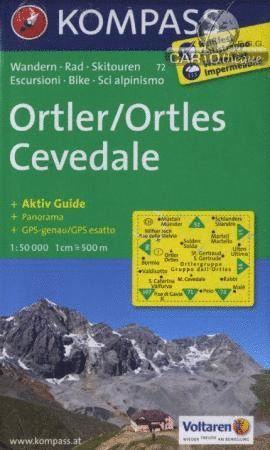72 ORTLER/ORTLES-CEVEDALE 1:50.000 *