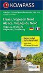 ELSASS - VOGESEN NORD - ALSACE - VOSGES DU NORD 1 : 50 000 *