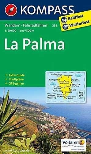LA PALMA MAPA KOMPASS 1:50.000    *