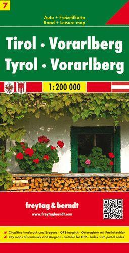 TIROL-VORARLBERG (7) (TYROL) 1:200.000 *