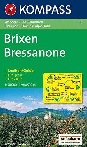 56 BRISEN - BRESSANONE E. 1:50,000