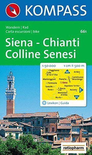 661 SIENA -CHIANTI -COLLINE SENESI 1:50.000 *
