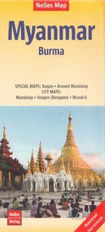 MYANMAR BURMA 1:1.500.000 *