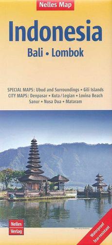 INDONESIA BALI LOMBOK 1:180.000 *