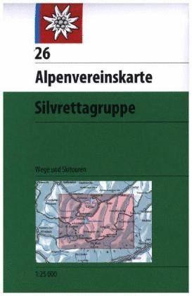 26 SILVRETTAGRUPPE 1:25,000