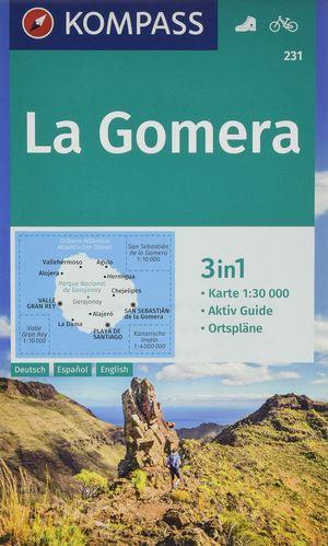 231 LA GOMERA 1:30.000