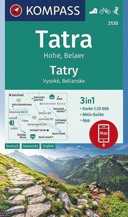 2130 TATRY - TATRA - TRATAS 1:25.000 *
