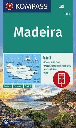 234 MADEIRA 1:50.000 *