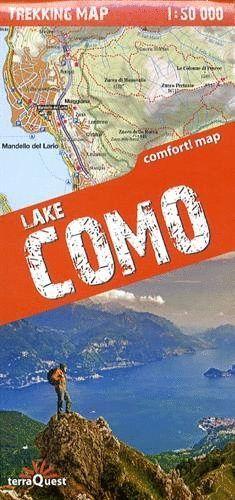 LAKE COMO / LAGO DE COMO 1:50,000 *