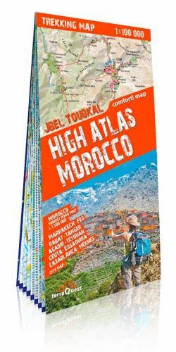 HIGH ATLAS MOROCCO (ALTO ATLAS MARRUECOS) 1:100,000 *